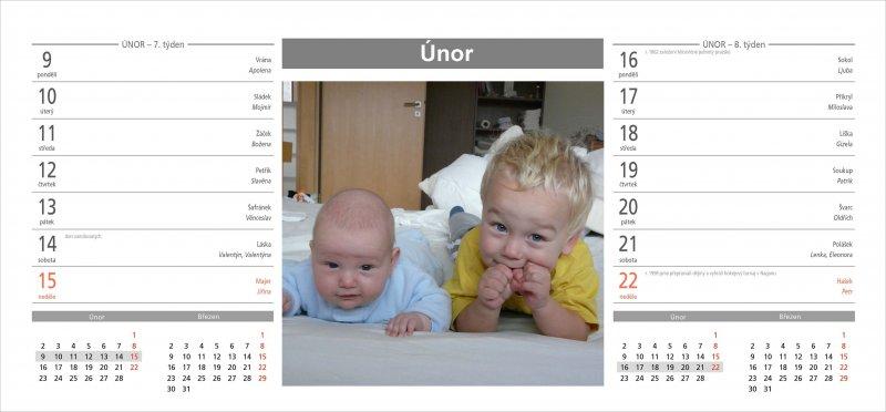 Šablony stolní kalendář 2015